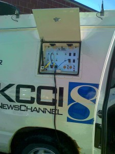 Rigging the live truck