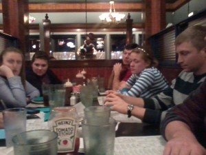 Dinner at Hickory Park